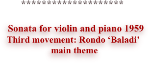 ********************